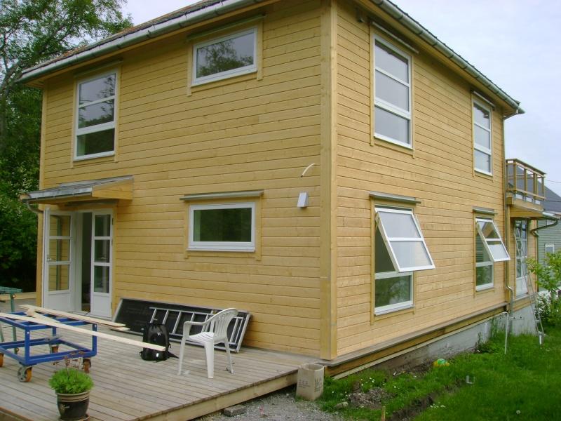 Renovering av bolig, stue, kj?kken, bad, hall, garderobe, rekkverk ...